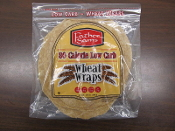 8'' Father Sam's Wrap/Low Carb Wheat Tortilla 1-8ct